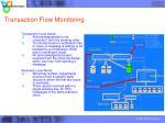 transaction flow monitoring
