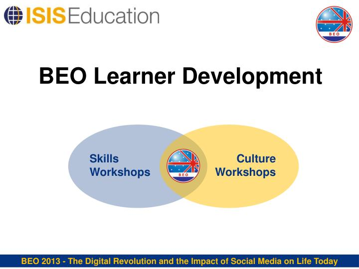BEO Learner Development