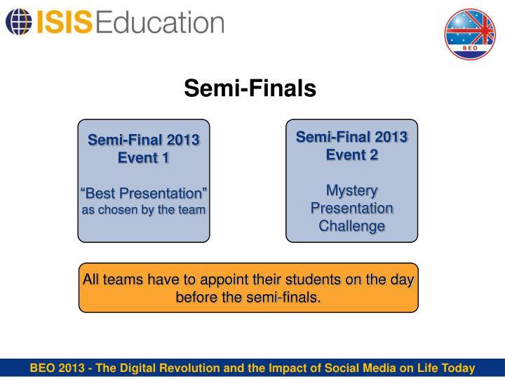 Semi-Finals
