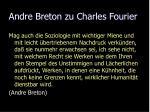 andre breton zu charles fourier