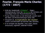 fourier fran ois marie charles 1772 1837