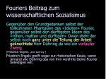 fouriers beitrag zum wissenschaftlichen sozialismus10