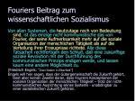 fouriers beitrag zum wissenschaftlichen sozialismus7
