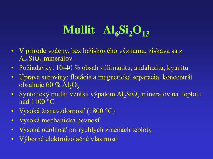 Mullit   Al