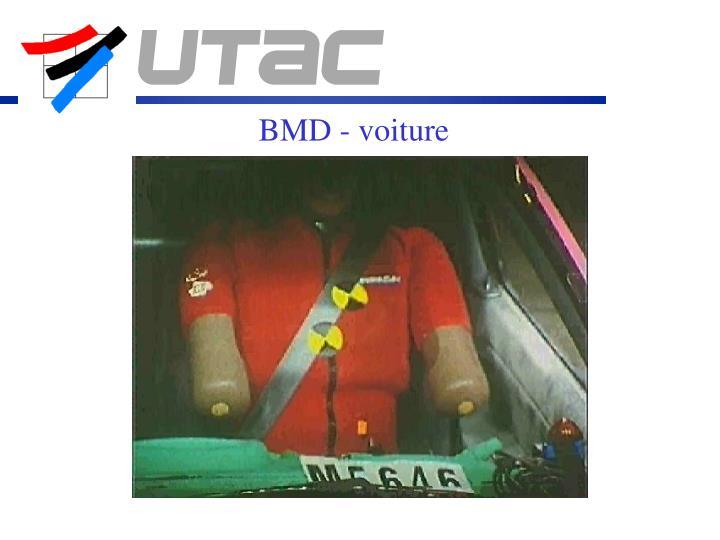 BMD - voiture