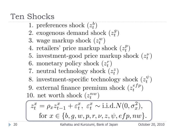 Ten Shocks
