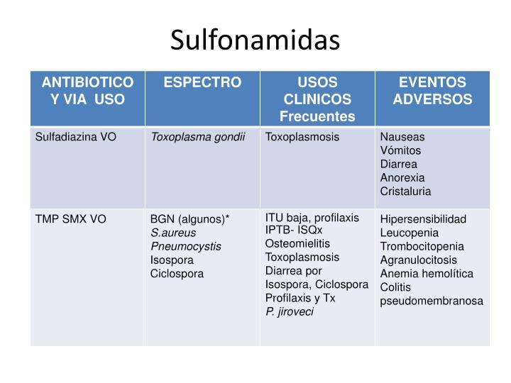 Sulfonamidas