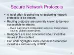 secure network protocols