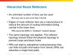 hierarchal route reflectors1