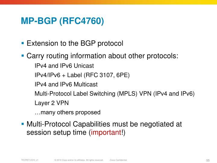 MP-BGP (