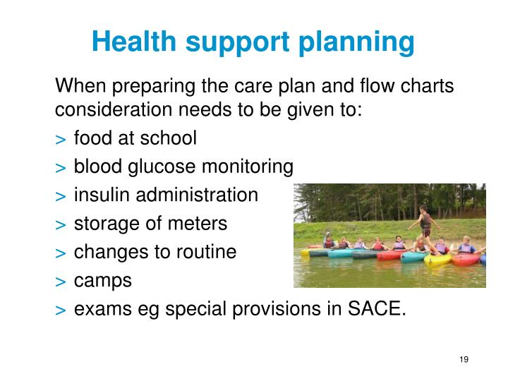 Health support planning