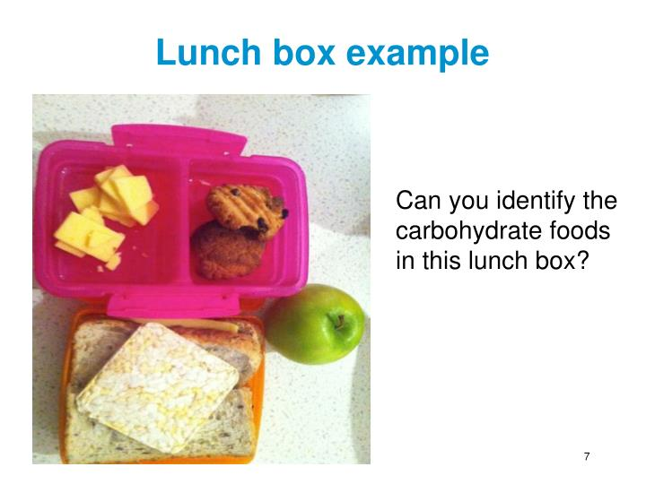 Lunch box example