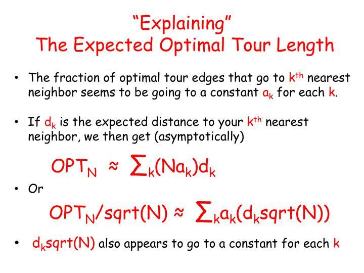 """""""Explaining"""""""