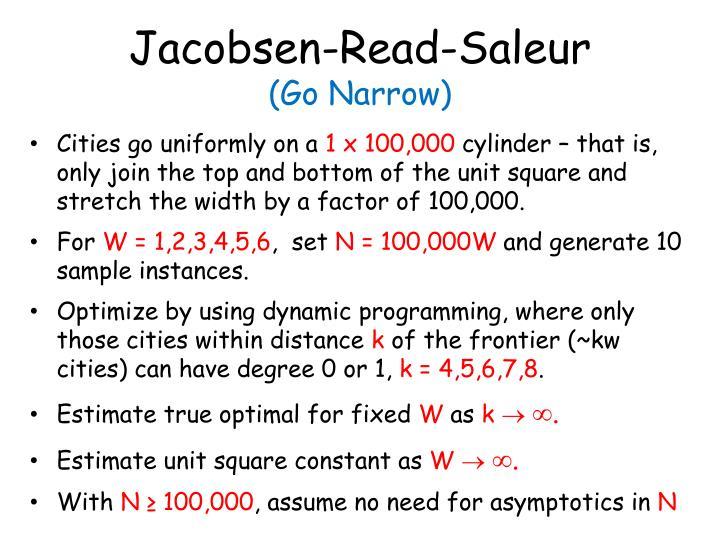 Jacobsen-Read-Saleur
