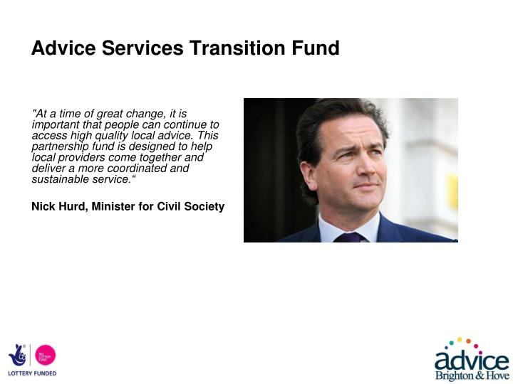 Advice Services Transition Fund