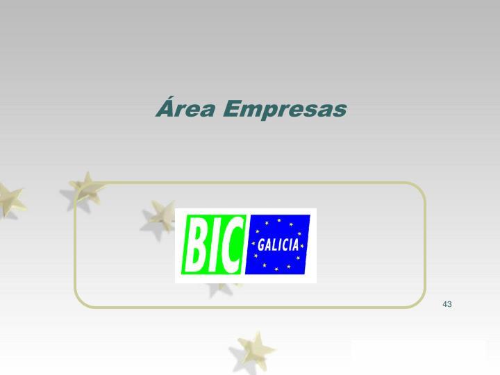 Área Empresas