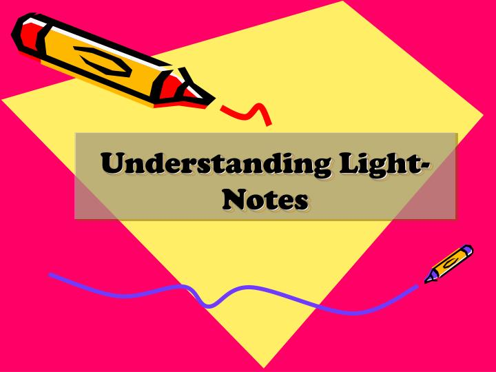 Understanding Light-