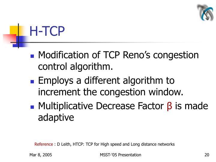 H-TCP