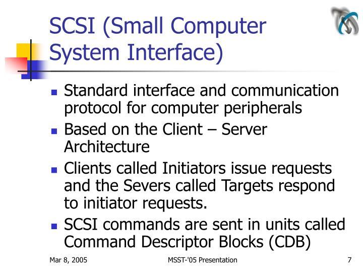 SCSI (Small Computer