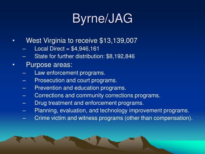 Byrne/JAG