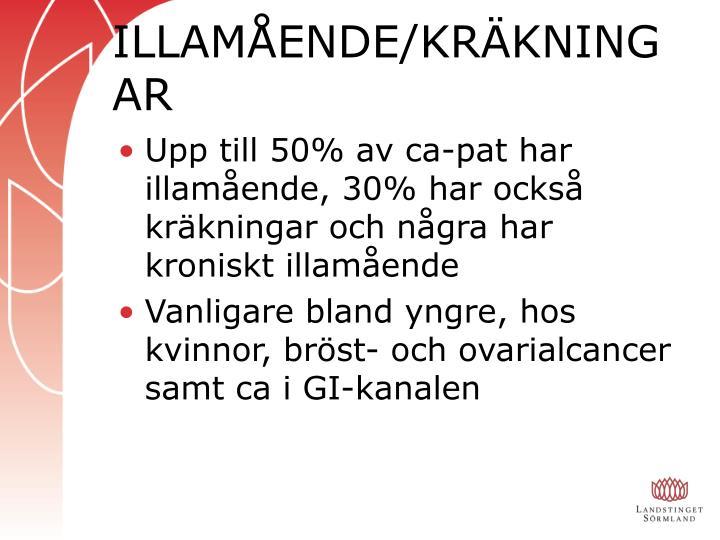 ILLAMÅENDE/KRÄKNINGAR