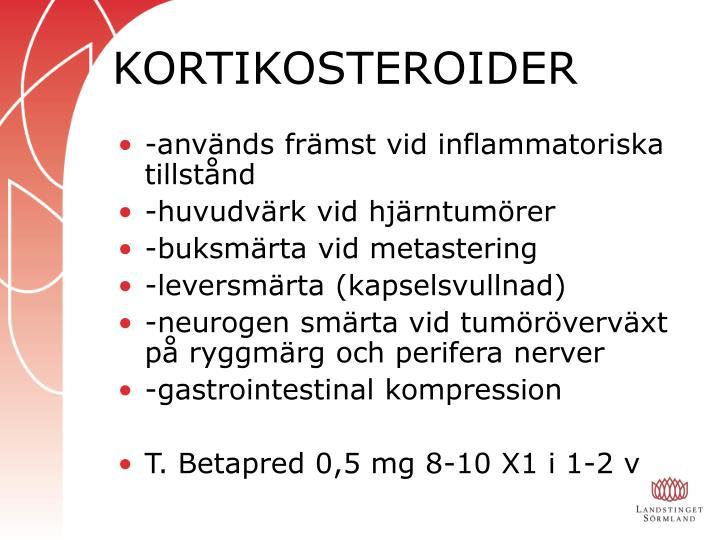 KORTIKOSTEROIDER