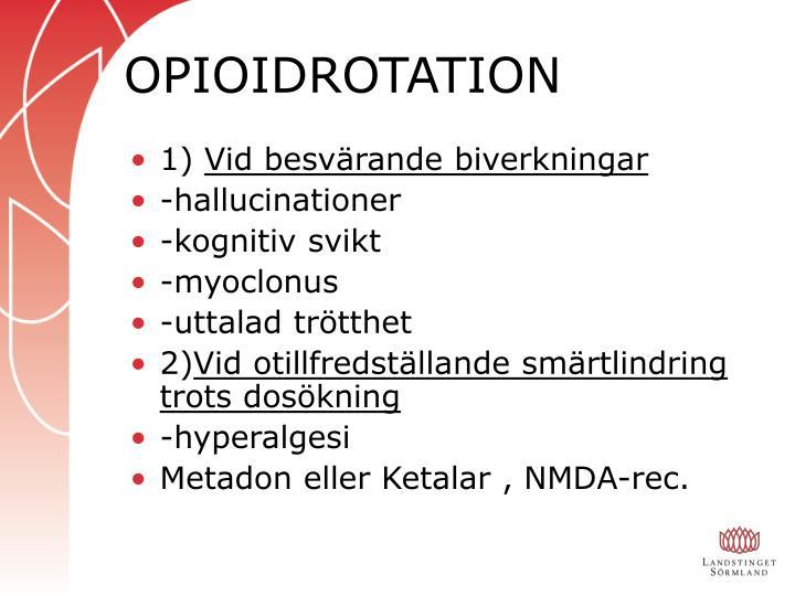OPIOIDROTATION