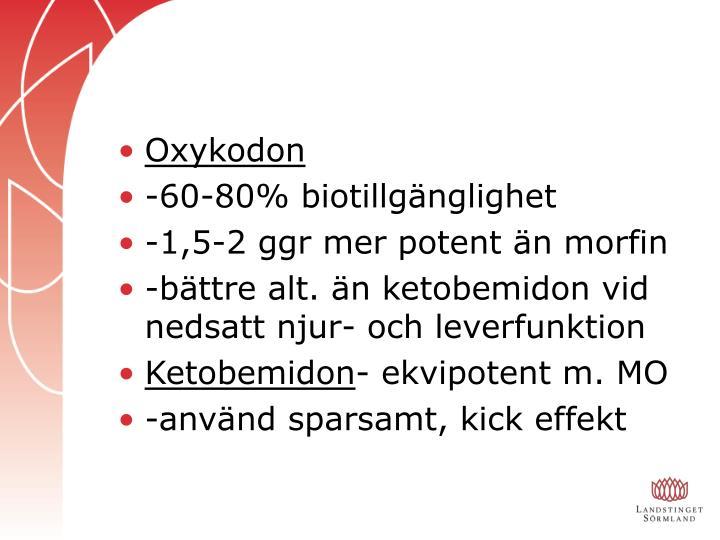 Oxykodon