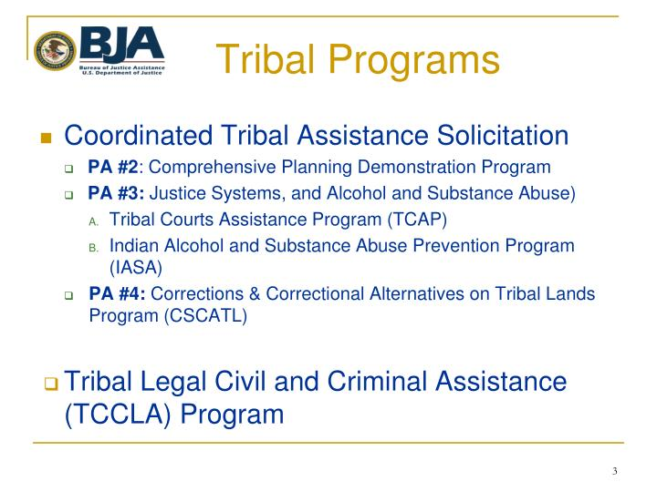 Tribal Programs