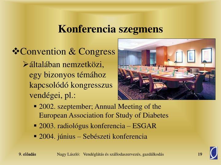 Konferencia szegmens