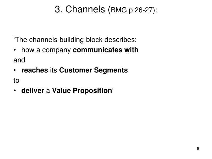 3. Channels (