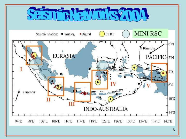 Seismic Networks 2004