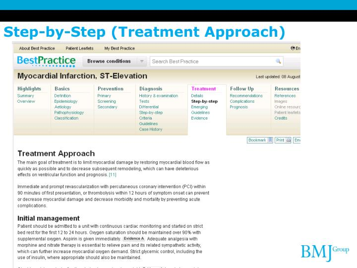 Step-by-Step (Treatment Approach)