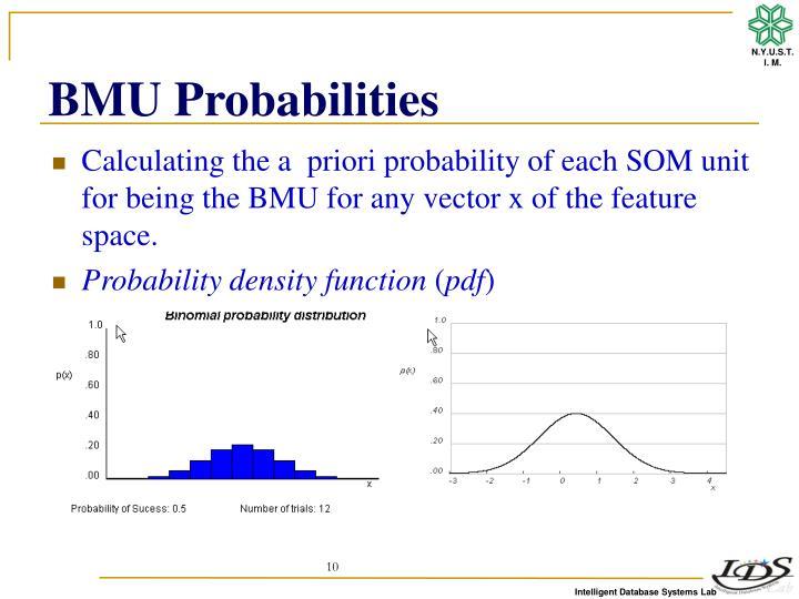 BMU Probabilities