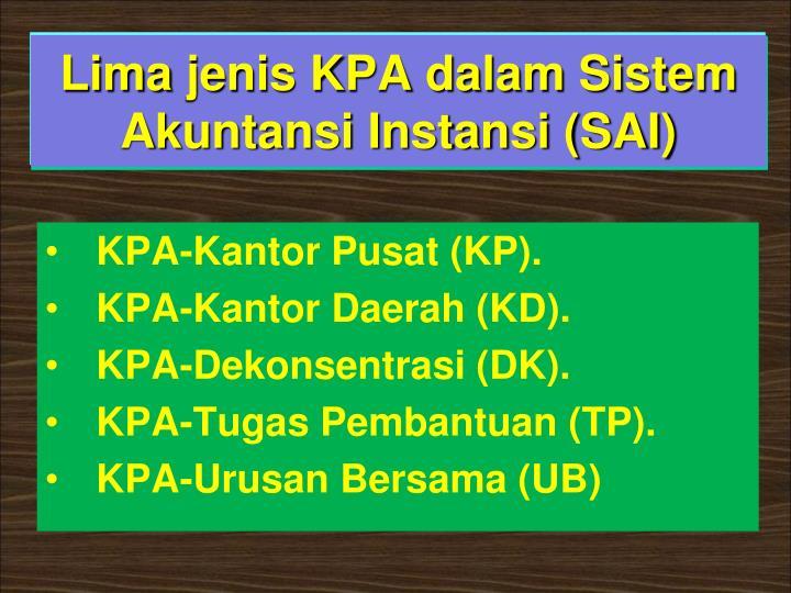 KPA-Kantor Pusat (KP).