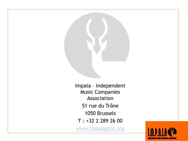 Impala – Independent Music Companies Association
