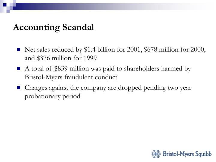 Accounting Scandal