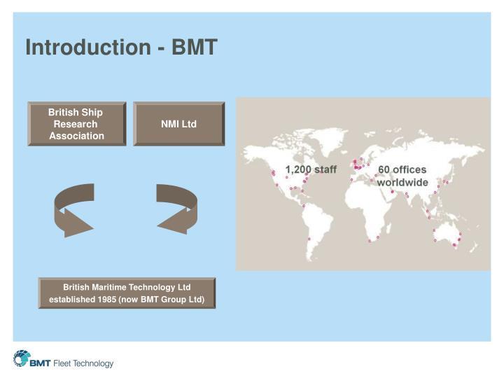 Introduction - BMT
