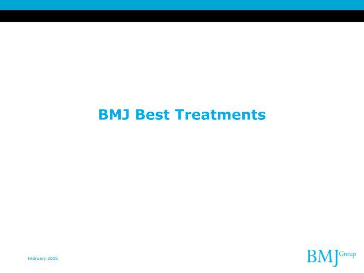 BMJ Best Treatments