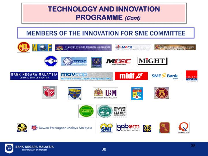 TECHNOLOGY AND INNOVATION PROGRAMME