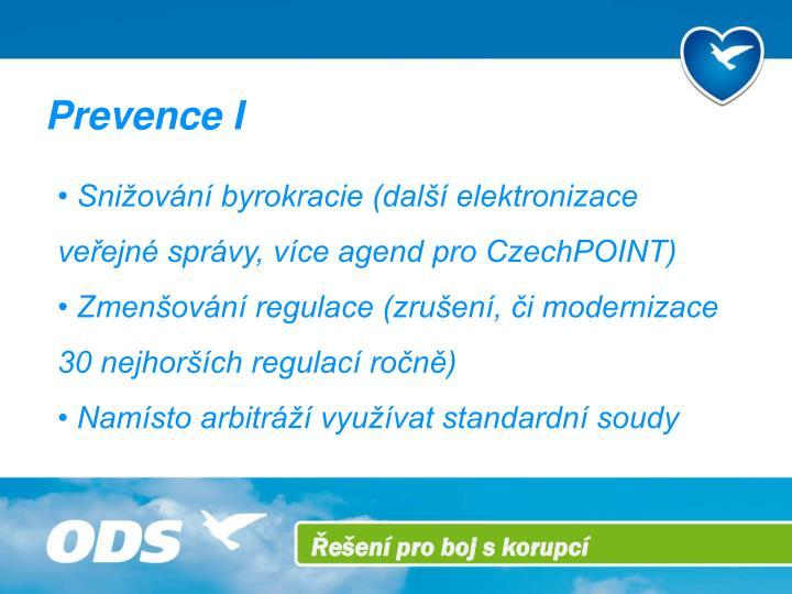 Prevence I