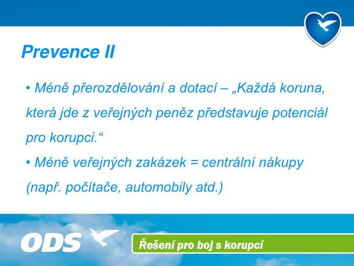 Prevence II