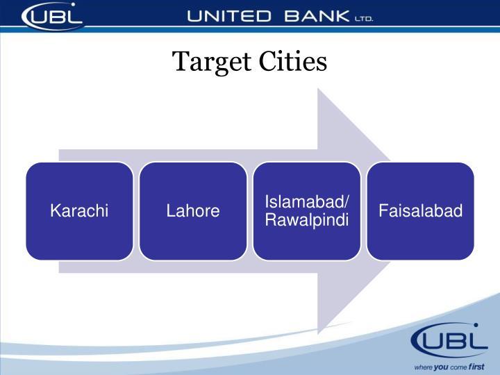 Target Cities