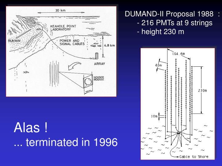DUMAND-II Proposal 1988  :