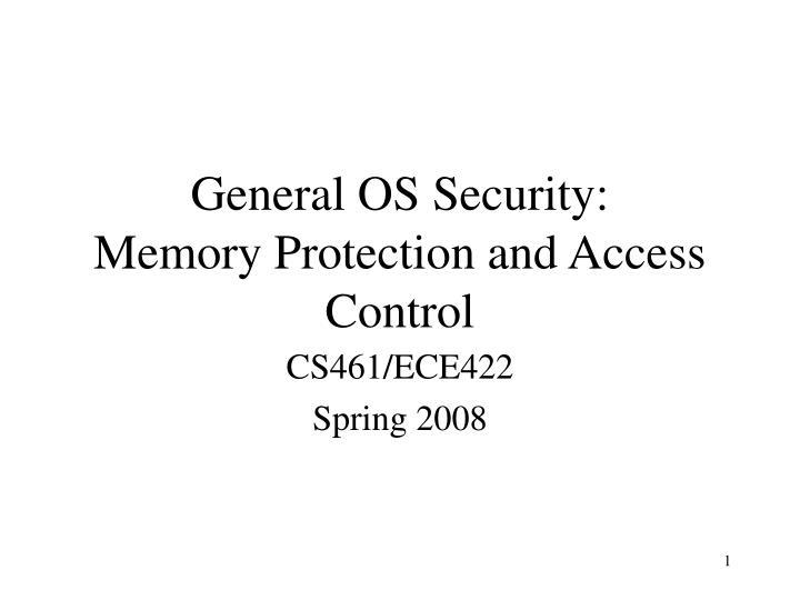 CS461/ECE422