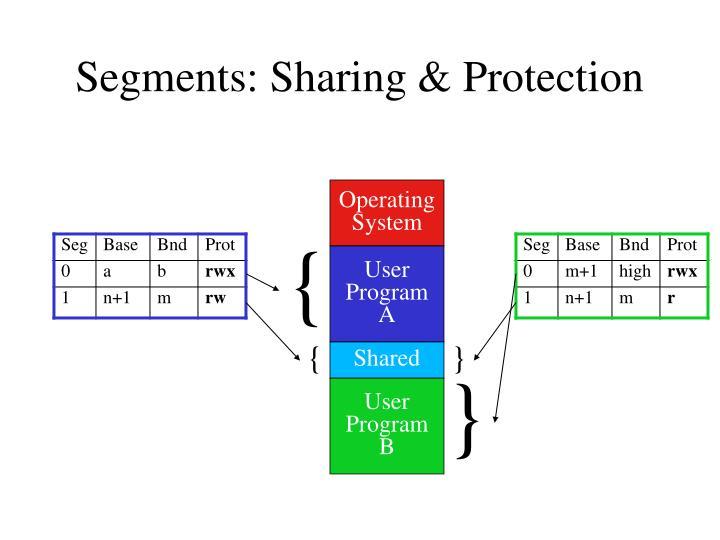 Segments: Sharing & Protection