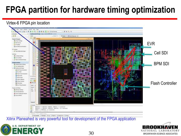 FPGA partition for hardware timing optimization