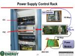 power supply control rack