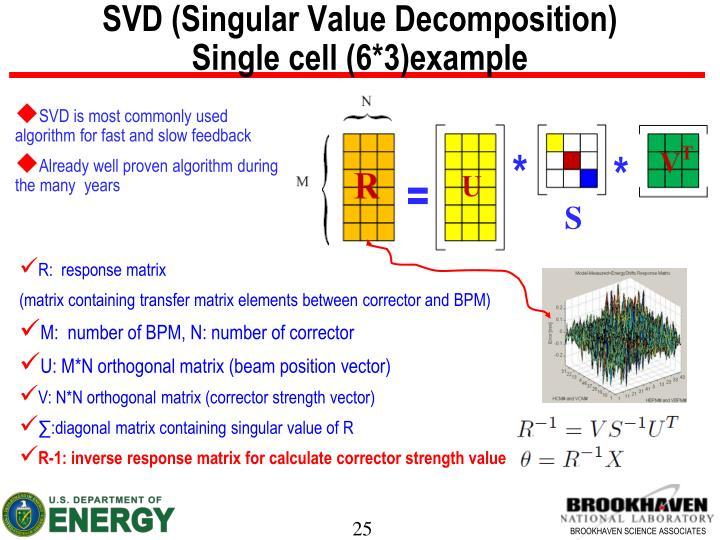 SVD (Singular Value Decomposition)