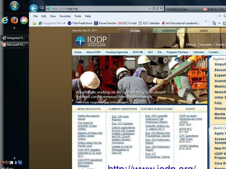 http://www.iodp.org/